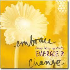 Dear You~Embrace Change